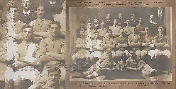 Balliol Invicta Football Club 1910-1911 Division 1 Winners for Southwark District