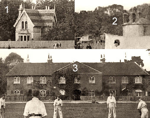 Cricketing scene United Kingdom but when? and where? Clues...