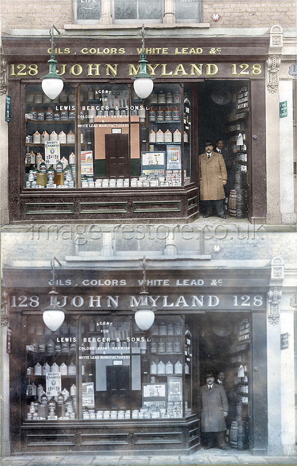 Paints And Varnishes : Mylands paints and varnishes