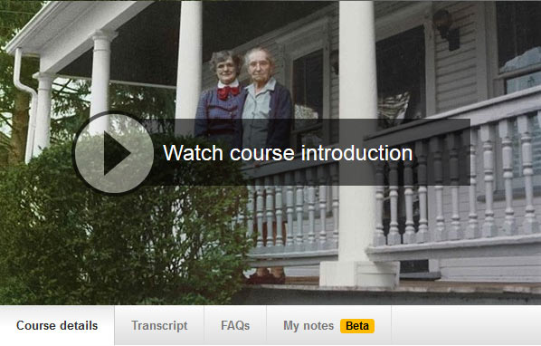 Photo Restoration course on line at Lynda.com - Color Casts and Fading