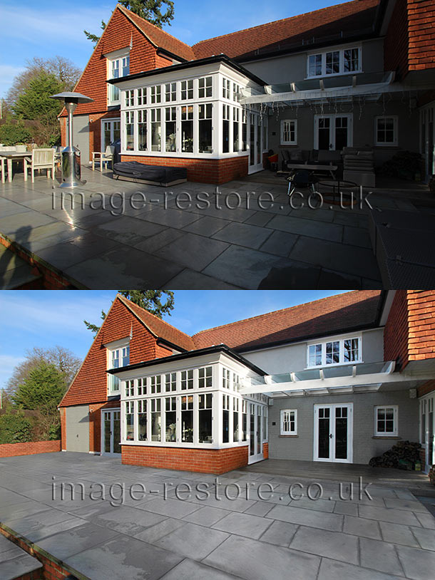 Property retouching