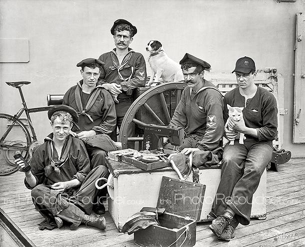 Photoshopped Sailors