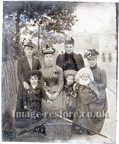 William Joseph Powell Tintype Circa 1892