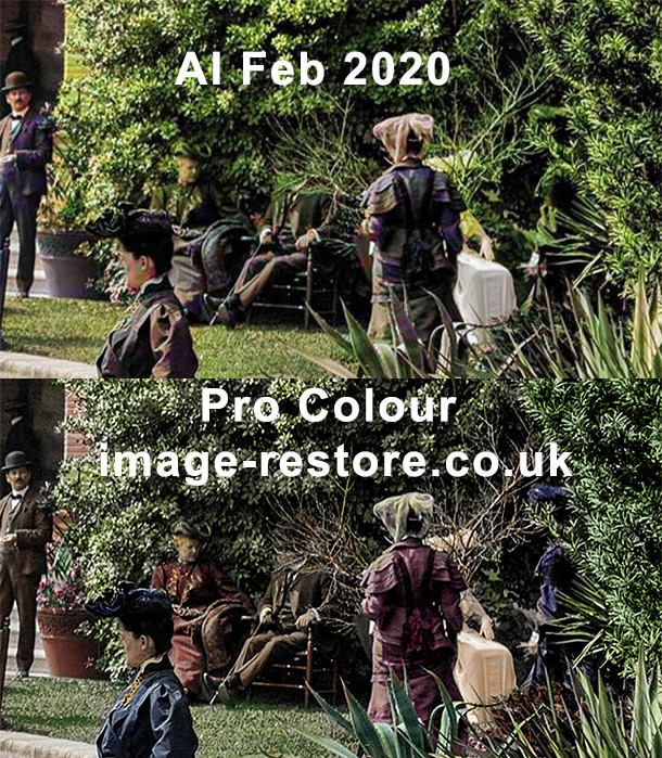 In 2020 what is the colouring AI like now?