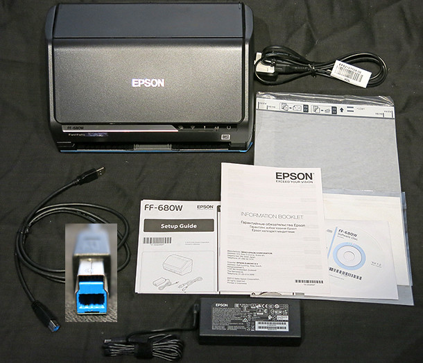 Epson FastFoto FF-680W scanner review