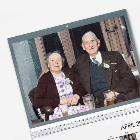 Calendar from SnapFish