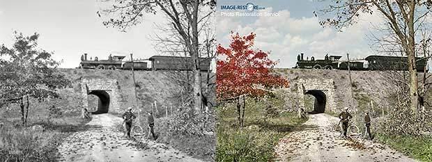 10 Amazing Photo Restorations