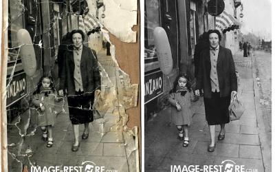 17 amazing photo restoration samples