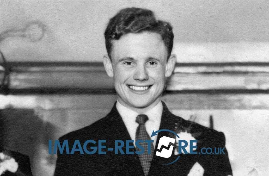 Harry Haddock Clyde FC photo restoration