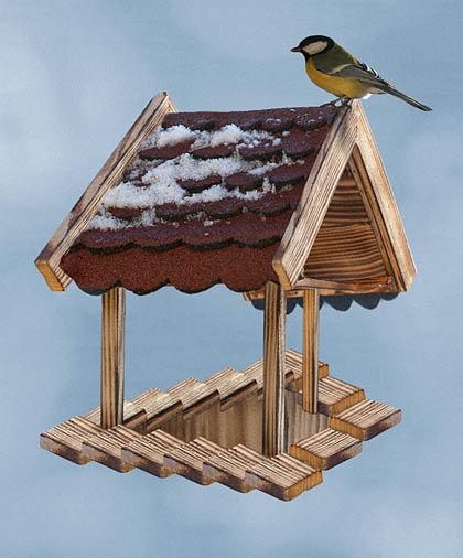 Never ending staircase birdhouse