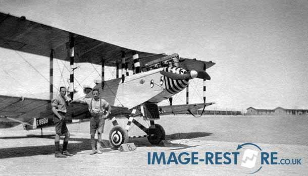 RFC Egypt Aircraft in one piece E8999