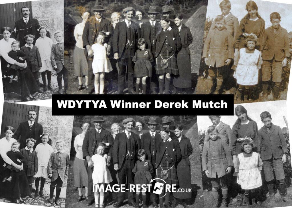 WDYTYA Photo Restoration Winner