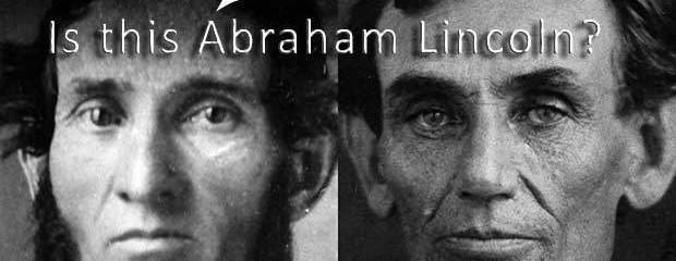 Abraham Lincoln young rare closeup