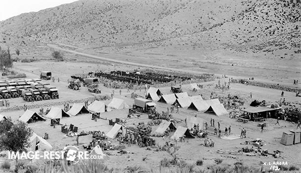 Damdil Camp on the way to Razmak