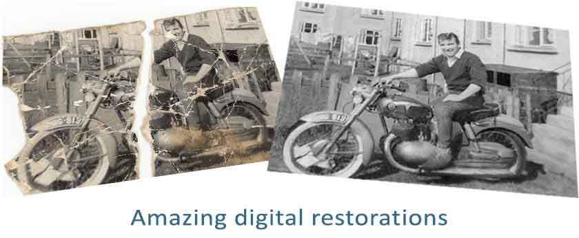 Amazing digital restorations