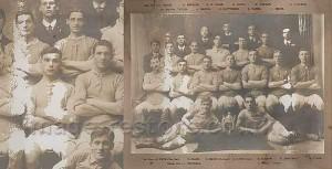 Balliol Invicta Football Club 1910 before restoration