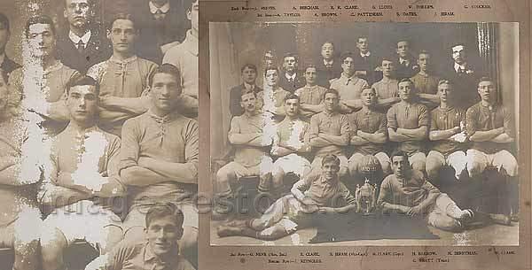 Balliol Invicta Football Club 1910-1911