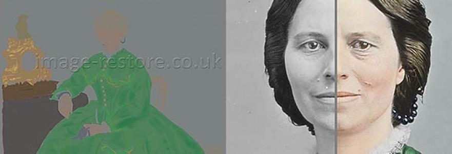 Clara Barton 1865 colouring