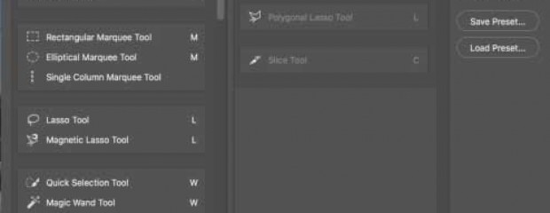 Customize your toolbar for photo restoration