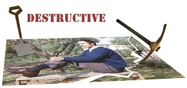 Destructive work flow vs Non-destructive workflow