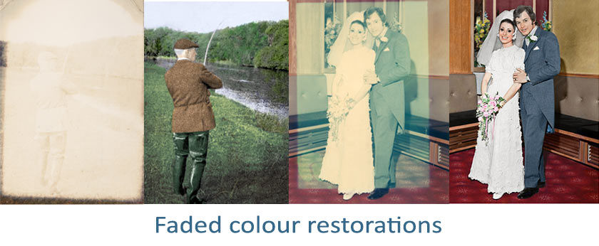 Faded colour images can be restored