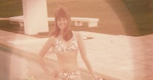 faded colour photo restored