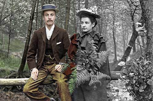 Colour references and accuracy when colouring old photos