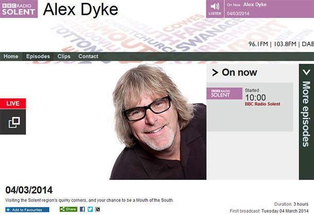 Photo restoration on BBC Radio Solent