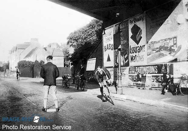 London to Brighton cycle ride 1920's