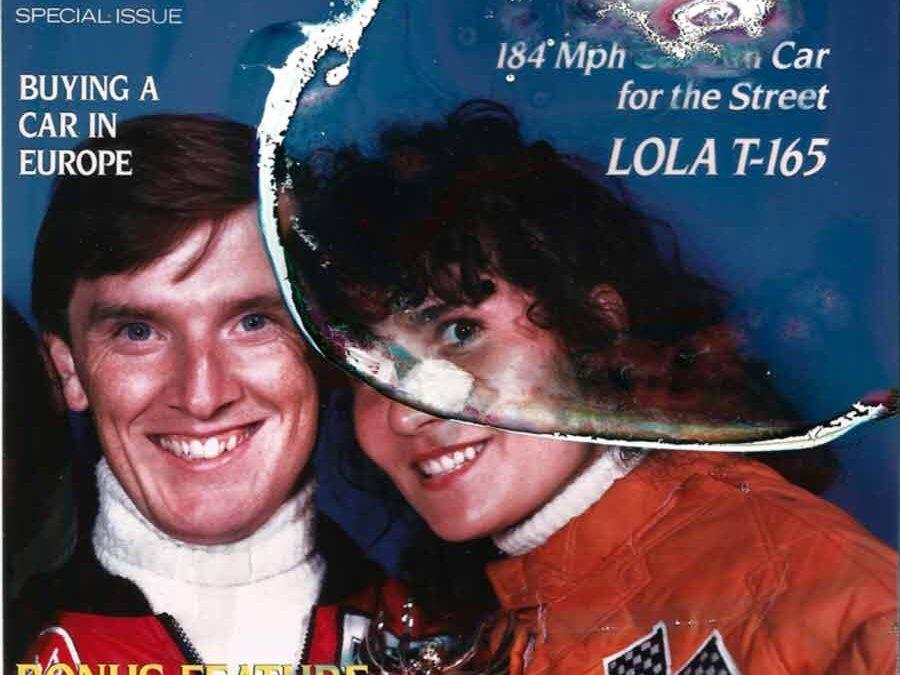 Magazine cover photo restoration