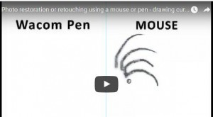 Mouse Vs Wacom Pen and Tablet
