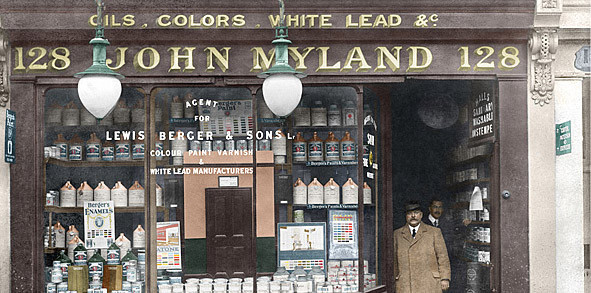 Mylands Paints and Varnishes 1884