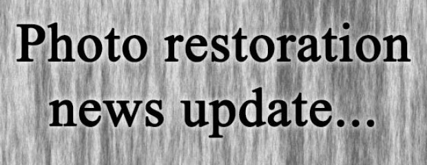 Photo restoration news update