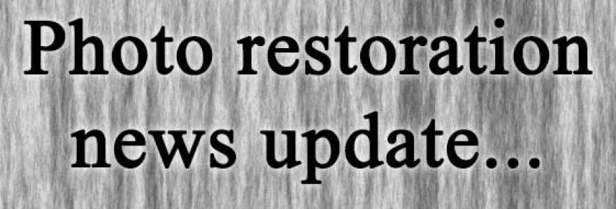 Photo restoration news update