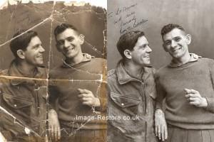 Norman Wisdom Photo Restoration