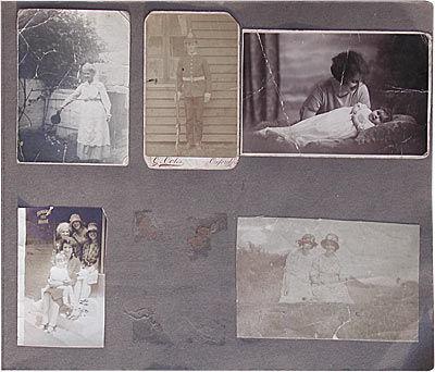 Inside the old album