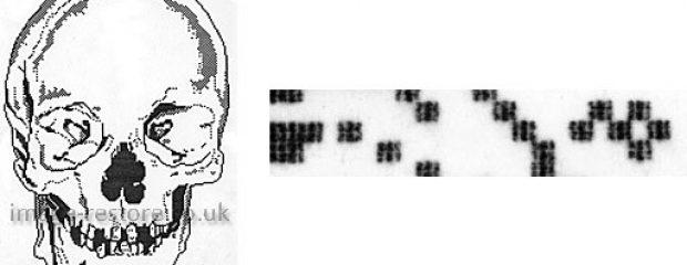 Photo restoration artist Neil Rhodes Pixel Art on a BBC Micro Computer in 1983
