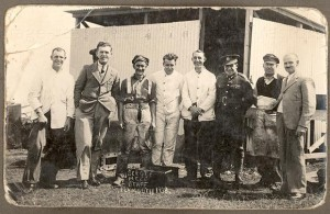Plymouth 1938 Mess Staff