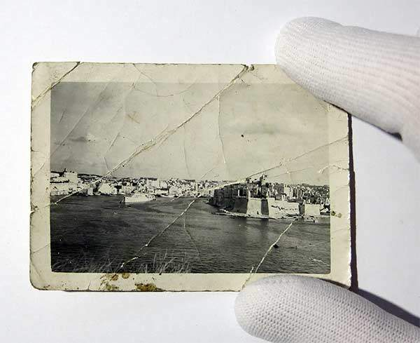 Photo restoration with care and attention