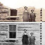 Using vanishing point to restore a photo