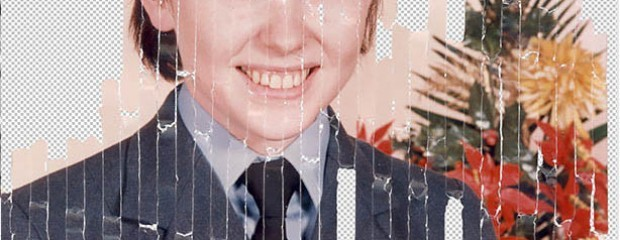 restore a shredded photo