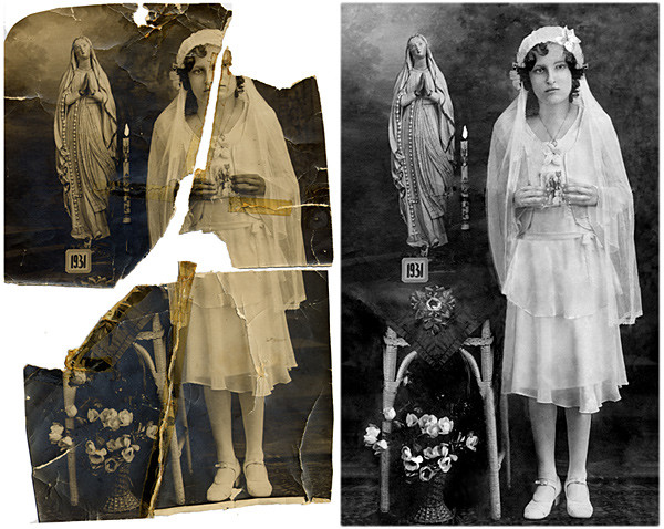 Photo Restoration – Restoring the Un-restorable