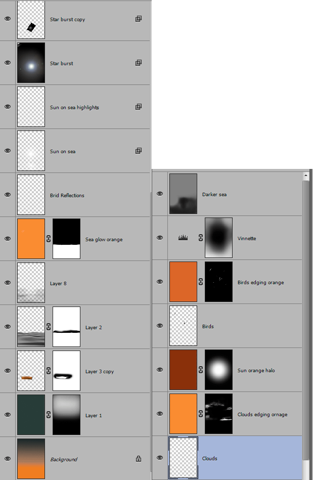 Layers Palette