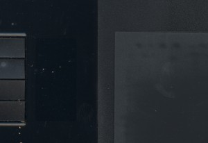 Worn Wacom Tablet Surface