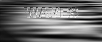 Adding text to the waves