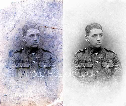 William Ford Battle of Ypres aged 16