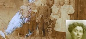 wixon family photo restored